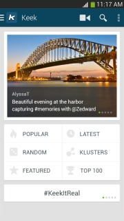 Keek - Social Video For Android Phones V 3.0.1 Mobile Software
