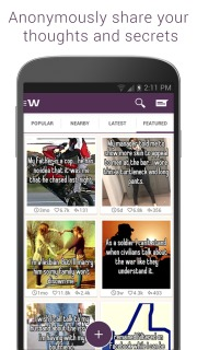 Whisper For Android Phones V 2.1.5 Mobile Software