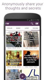 Whisper For Android Phones V 2.1.5 Mobile Software