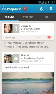 Foursquare For Android Phones V 2013.08.16 Mobile Software