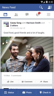 Facebook For Android Phones V 19.0.0.28.14 Mobile Software