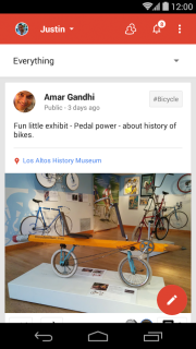 Google Plus For Android Phones V 4.6.0.76970369 Mobile Software