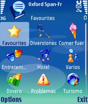 MSPhrase Oxford French Spanish Phrasebank V 3.50 Mobile Software