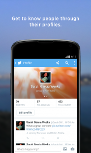 Twitter For Android Apps Mobile Software