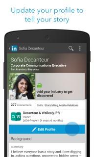 LinkedIn Mobile Software