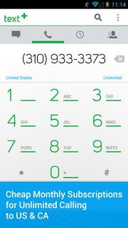 TextPlus Free Text Calls Free Android Apps Mobile Software