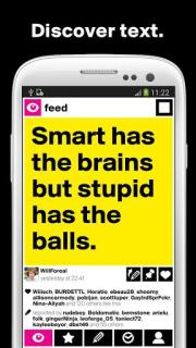 Boldomatic Everything Text Mobile Software