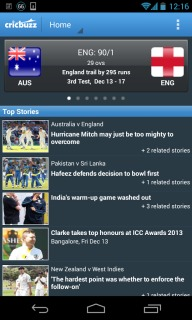 Cricbuzz Cricket Scores And News For Android Phones V 2.9.1 Mobile Software
