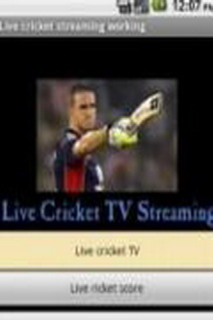Live Cricket TV Streaming For Java Phones Mobile Software