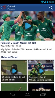 SuperSport For Android Phones V 2.0.3 Mobile Software