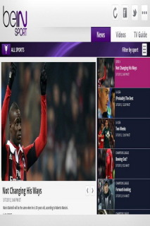 Bein Sport For Android Phones V 3.0 Mobile Software