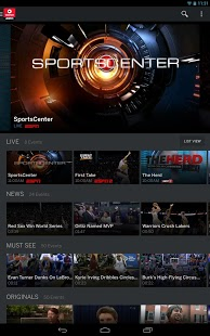WatchESPN For Android Phones V 2.0.0.0 Mobile Software