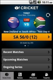 Yahoo Cricket For Android Phones V 1.4.3 Mobile Software
