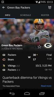 Yahoo Sports Mobile Software