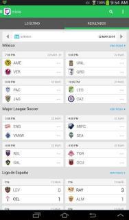 Univision Deportes Mobile Software