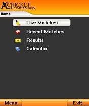 Cricket Companion Mobile Software