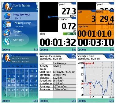 SportsTracker GA 30 V176 Mobile Software