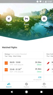 Skyscanner Flights  Hotels And Car Hire Android Apps Mobile Software