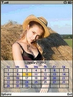 Babes Calendar 2012 Mobile Software