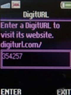 DigitURL 1.0 Mobile Software