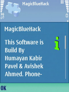 MagicBlueHack 1.0 Mobile Software
