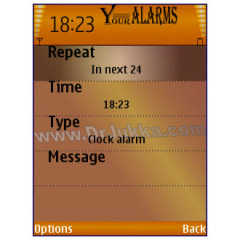 Y-Alarms Mobile Software