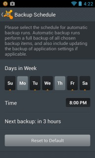 Avast Mobile Backup For Android Phones  V1.0.6204 Mobile Software