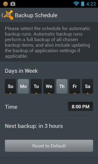 Avast Mobile Backup For Android Phones V1.0.6204 Mobile Software
