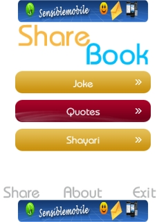Share Book Mobile Software