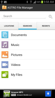 ASTRO File Manager  Browser For Android Phones V4.4.528 Mobile Software