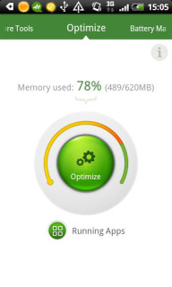 Android Booster Free For Symbian V2.0.00.26 Mobile Software