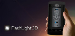 Multifunctional FlashLight 3D Mobile Software