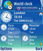 World Clock Mobile Software