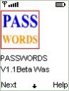 Passwords Mobile Software