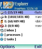 Fexplorer Mobile Software