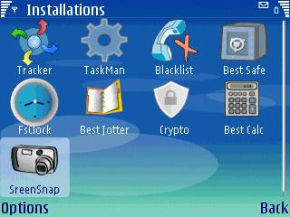 Best Screensnap S60 3rd V 1.00 Mobile Software