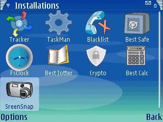 Best Screensnap S60 3rd V 1.00 Mobile Software