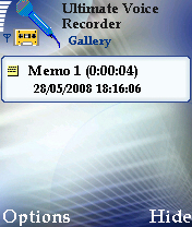 Ultimate Voice Recorder Mobile Software