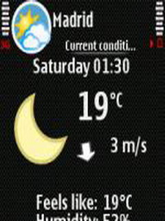 Foreca Weather 1.4.4 Mobile Software