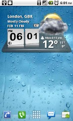 3D Digital Weather Clock For Android Phones V 3.6.2 Mobile Software