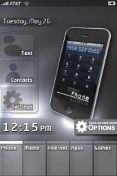 INitsua Beta IPhone Theme Mobile Theme