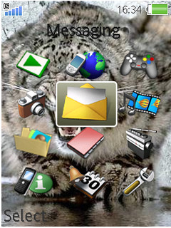 Tiger Mobile Theme