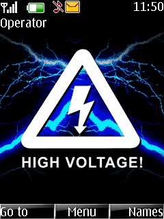 High Voltage Mobile Theme