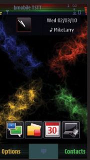 Abstract Color Nexus Theme Mobile Theme