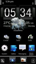 Just Black Mobile Theme