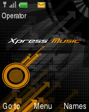 XPress Orange Mobile Theme
