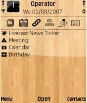 Plywood Mobile Theme