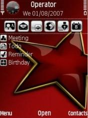 Red Star Mobile Theme