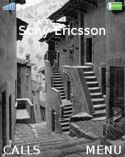 MC Escher Grey Mobile Theme