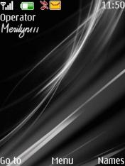 Black Abstract Theme Mobile Theme